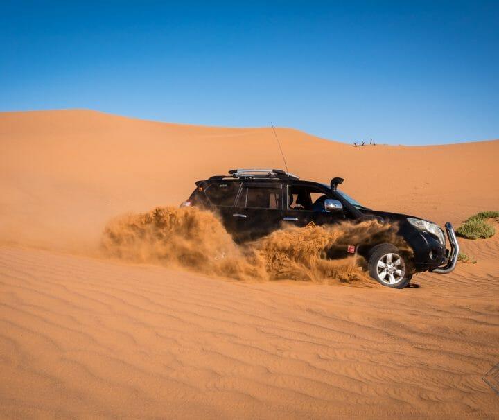 Desert Bivouac 4x4 Circuits
