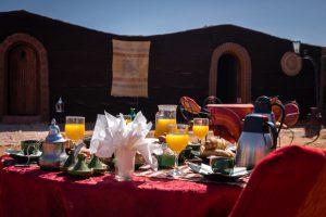 Desert Bivouac petit déjeuner