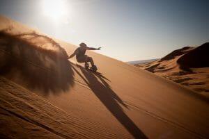 Sandboarding Chegaga