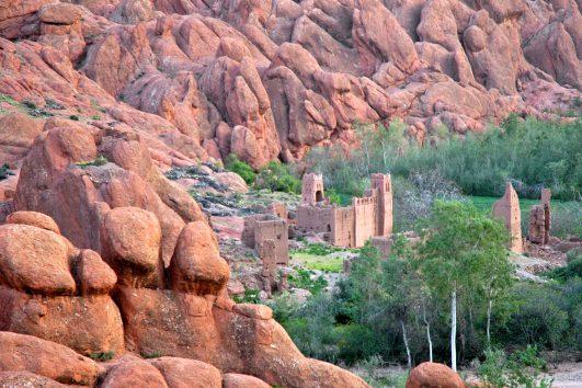 Gorges du Dades Desert Bivouac