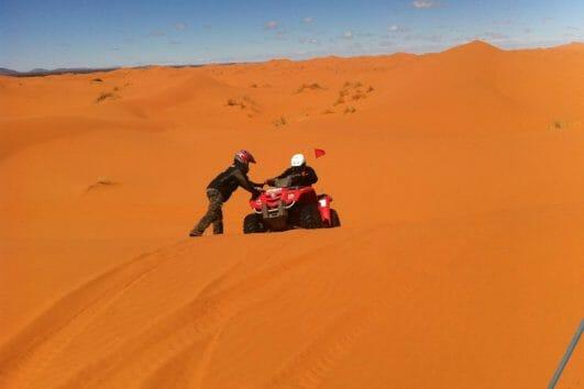 Quad Ride Desert Bivouac