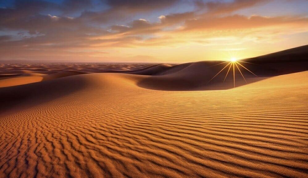 Desert Bivouac Sahara woestijn