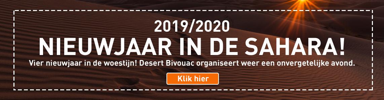 Nieuwjaar in de Sahara