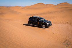 Desert Bivouac Sahara Desert 4x4