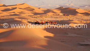 Desert Bivouac Chegaga Dunes, Desert Bivouac Sahara Tours Morocco