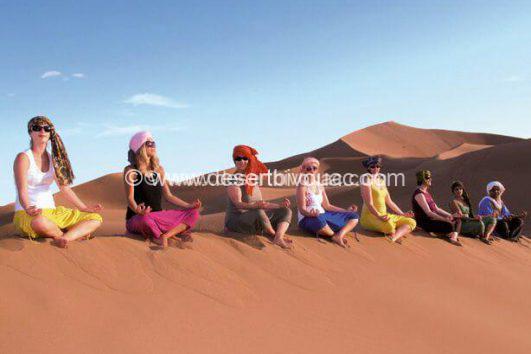 Desert Bivouac Yoga