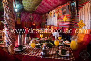 Breakfast Desert Bivouac