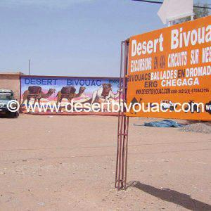 Bureau Desert Bivouac M'hamid