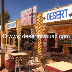 Restaurant Desert Bivouac M'hamid