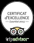 Desert Bivouac Certificat 2015 Tripadvisor