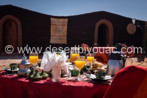 Desert Bivouac Breakfast